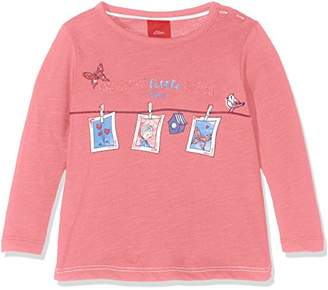 S'Oliver Baby Girls' 65.708.31.7242 Longsleeve T-Shirt