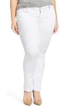 SLINK Jeans Release Hem Skinny Jeans
