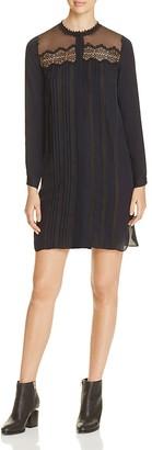 Elie Tahari Lita Silk Shirt Dress $398 thestylecure.com