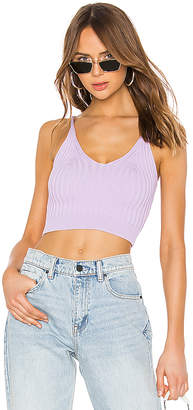 Alexander Wang Shrunken Rib Bra Top
