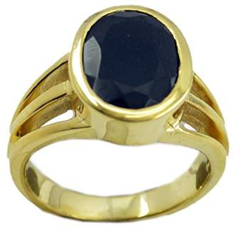 Marvelous! Riyo marvelous Onyx Gold Plated Ring handcrafted