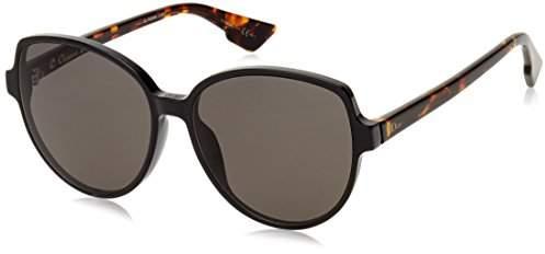 Womens Dioronde2 Nr Sunglasses, Black, 58 Dior