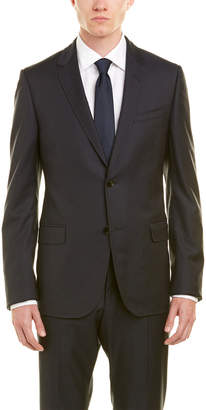 Gucci Monaco Selvage Dot Wool Suit With Flat Front Pant