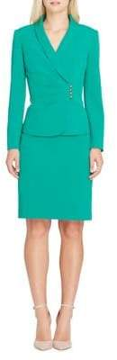 Tahari Arthur S. Levine Two-Piece Jacket and Skirt Suit