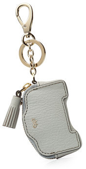 Anya HindmarchAnya Hindmarch Leather Space Invaders Robot Coin Purse