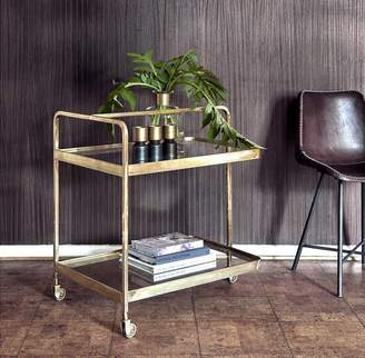Co The Forest & Gold Framed Drinks Trolley