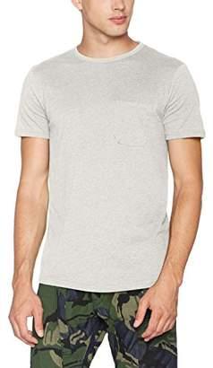 Tom Tailor Men's Crewneck Tee with Pocket T-Shirt,Small
