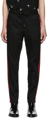 Dolce & Gabbana Black Striped Trousers