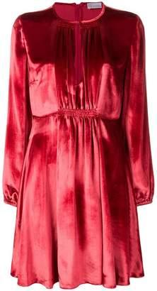 RED Valentino velvet midi dress