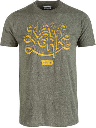 Levi's Men New York Graphic T-Shirt