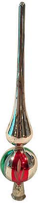 One Kings Lane Vintage Colorful German Blown Glass Tree Topper