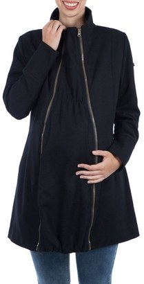 Women's Modern Eternity Convertible Maternity Coat $225 thestylecure.com