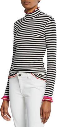 Splendid x Margherita Dolce Vita Striped Turtleneck Top