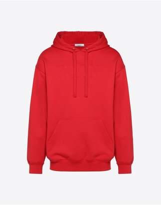 Valentino Embossed Vltn Hooded Sweatshirt