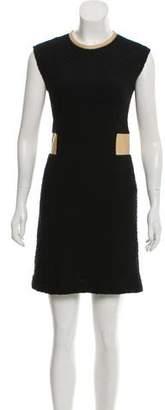 Rebecca Taylor Tweed Patterned Mini Dress