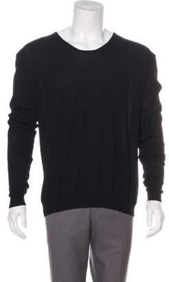 Haider Ackermann Long Sleeve Scoop Neck Sweater w/ Tags black Long Sleeve Scoop Neck Sweater w/ Tags