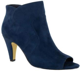 Bella Vita Noah Ii Open Toe Dress Booties Women Shoes