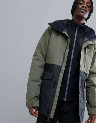 Quiksilver Horizon Ski Jacket in Khaki