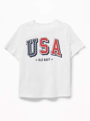 Old Navy 2018 USA Graphic Tee for Toddler Boys