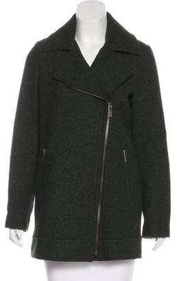 MICHAEL Michael Kors Wool-Blend Mélange Coat