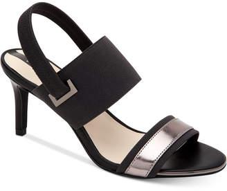 Alfani Women's Genevia Elastic Dress Sandals, Created For Macy's Women's Shoes