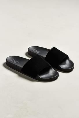 Urban Outfitters Velvet Slide Sandal