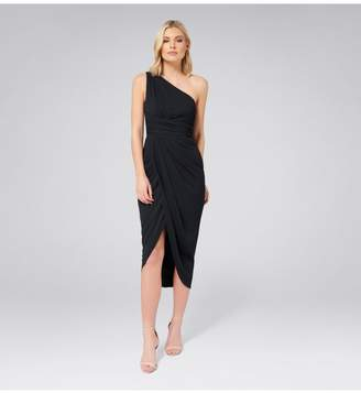 Ever New Mandy One Shoulder Drape Maxi