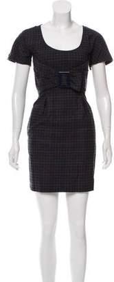 See by Chloe Plaid Mini Dress