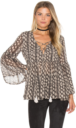 Show Me Your Mumu Poet Tie Top $136 thestylecure.com