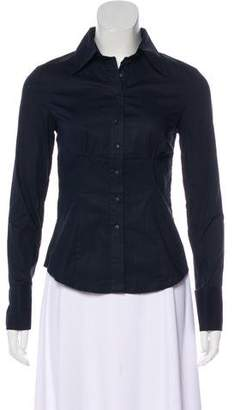 DSQUARED2 Gathered Button-Up Top
