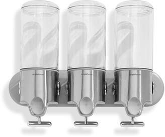 Simplehuman Triple Wall Mount Pumps