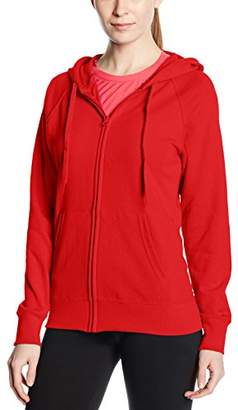 Fruit of the Loom Women's Zip front Lightweight Hooded Sweat,8 (Manufacturer Size:)