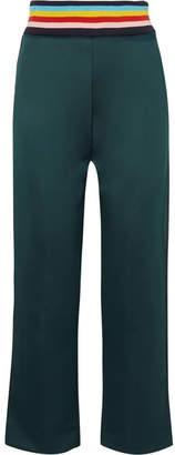 Mira Mikati Stretch-scuba Jersey Track Pants - Petrol