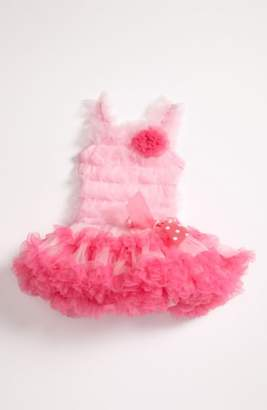 Popatu Ruffle Petticoat Dress