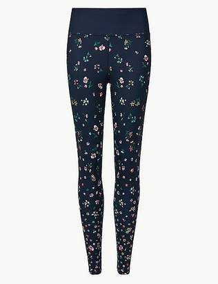 Marks and Spencer Quick Dry Floral Print Leggings