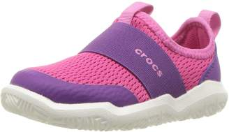 Crocs Kid's Swiftwater Easy-On Water Outdoor Shoes, Candy Pink/Amethyst