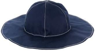 Marni oversized denim hat