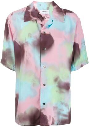 Ambush tie-dye print shirt
