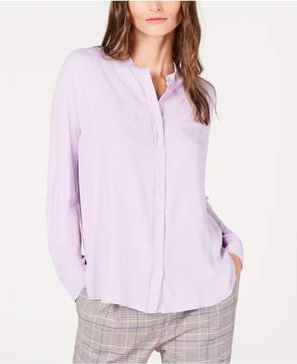 Marella Ezio Mandarin-Collar Shirt
