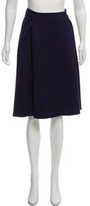 Armani Collezioni Pleated Knee-Length Skirt w/ Tags