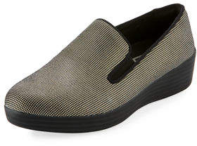 FitFlop Houndstooth Super Skate Sneakers