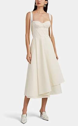 Brock Collection Women's Orsola Cotton A-Line Dress - 110-Ivory