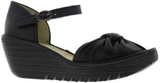 Fly London Yoel 629 Black Womens Shoes Size 37 EU