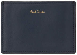 Paul Smith Navy Concertina Stripe Card Holder