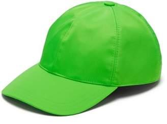 Prada Logo Plaque Baseball Cap - Mens - Green