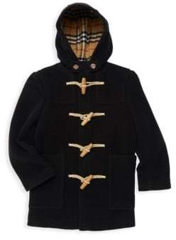 Burberry Little Boy's& Boy's Burford Wool Coat