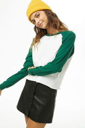 Forever 21 French Terry Raglan Top