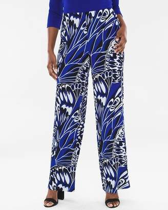 Travelers Classic Butterfly Palazzo Pants