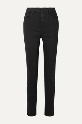 SLVRLAKE - Beatnik High-rise Slim-leg Jeans - Black