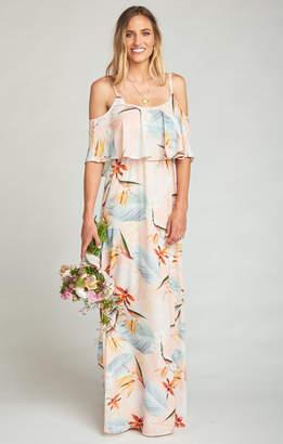 Show Me Your Mumu Caitlin Ruffle Maxi Dress ~ Paradise Party